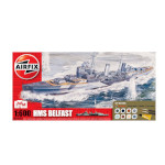 15713 - Hornby Airfix HMS Belfast 1:600 Scale Model Kit (A50069)