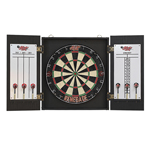 1231 - SwiftFlyte Pine Brown Mahogany Dart Cabinet - OUT OF STOCK