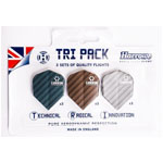 12032 - Harrows Carbon Tri-Packs