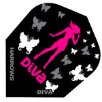 7945 - Diva Flight Diva Shooter with Butterflies