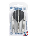 12038 - Harrows Twin Pack - Grey/ White