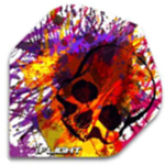 12617 - I-Flights - Skull Graffiti Splash