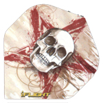 12618 - I-Flights - Skull in Red Star