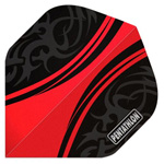 13212 - Pentathlon Flights - Delta Red/Black Standard