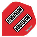 13141 - Pentathlong X180 Dart Flights - Red
