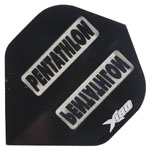 13143 - Pentathlong X180 Dart Flights - Black