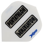 13144 - Pentathlong X180 Dart Flights - White