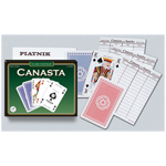 10455 - Canasta Double Deck Bridge Size Playing Cards by Piatnik