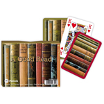 9971 - Piatnik A Good Read Bridge Double Playing Cards Double Deck