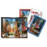 9970 - Piatnik Double Deck City Lights Bridge Double Playing Cards