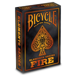 13775 - Bicycle Fire Element Playing Cards