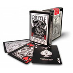 8452 - Bicycle Black Tiger Playing Cards - Red
