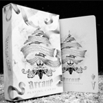 8456 - Ellisionist Arcane Playing Cards White