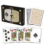 11872 - Copag Black and Gold Double Deck Poker Cards