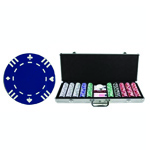 4977 - 500 Piece 13.5 Gram Pro Clay Double Suited Poker Chip Set