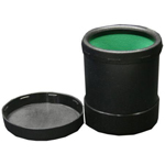7287 - Plastic Dice Cup with Lid