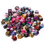 13575 - Assorted Polyhedral Gem Dice Set of 7