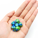 13573 - Mini Two Tone Polyhedral RPG Dice Set 10MM