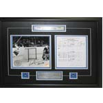 7401 - Darryl Sittler Signed 10 Point Night Scoresheet
