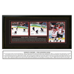 9902 - Sidney Crosby Triple 8x10 Team Canada Olympic 2010 The Golden Goal