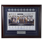 9925 - Toronto Maple Leafs Captains Signed Print