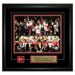13815 - Toronto Raptors 8x10 Pin and Plate 2019 Champions