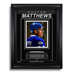 13089 - Auston Matthews Toronto Maple Leafs Air Canada Centre - Archival Etched Glass