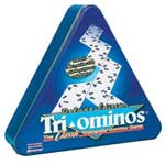 3953 - Deluxe Triominoes in Triangular Tin