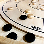 2084 - Baltic Birch and Ash Crokinole Board