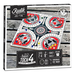 Super Tock 4 Player Board Game