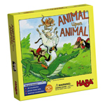 HABA Animal Upon Animal - Classic Wooden Stacking Game