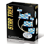 11663 - 50th Anniversary STAR TREK Tridimensional Chess Set