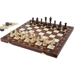 13287 - 3 in 1 Chess, Checkers   Backgammon Set - 16 inch