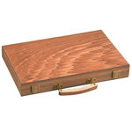 11545 - Backgammon Set - 11 Inch - Oak