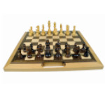 F G Bradley S Chess Checkers And Backgammon Sets