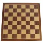 6401 - 16'' Wooden Chess Board