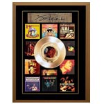 7416 - Jimi Hendrix Unsigned Gold Record Frame Album Covers