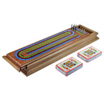 3 Track Clifton Solid Wood Board