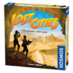 Lost Cities: The Original Card Game with the 6th expedition expansion