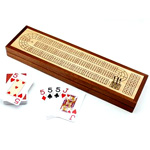 Wooden Cribbage Board with Storage *Not Available*