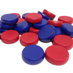 10184 - Crokinole Replacement Pieces - Coloured