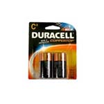 2449 - C Duracell Batteries (2 pack)