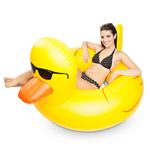 11499 - Big Mouth Giant Rubber Duckie Pool Float