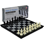 10299 - 2 in 1 Travel Magnetic Chess and Checkers Set