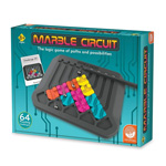 14052 - Mindware Marble Circuit Logic Board Game 64 Puzzling Challenges