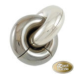 10627 - Hanayama Cast Iron Puzzler ''Donuts'' Level 4