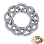 7627 - Hanayama Cast Iron Puzzler ''Coaster'' Level 4