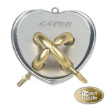 12242 - Hanayama Cast Iron Puzzler ''Amour'' Level 5