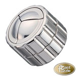 11132 - Hanayama Cast Iron Puzzler ''Cylinder'' Level 4