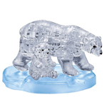 BePuzzled Original 3D Crystal Puzzle Polar Bear   Baby